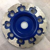 T Type Segmented Diamond Grinding Cup Wheel with M14 Thread Arbor thumbnail image