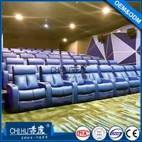 Hot sale comfortable home recliner cinema sofa