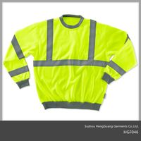 Hi Vis Safety Workwear Sweatshirt