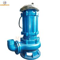 China Submersible Wear-Resistant Vertical Centrifugal Slurry Pump thumbnail image