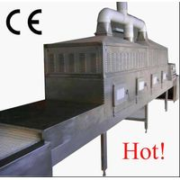 Microwave roasting equipment for cocoa powder