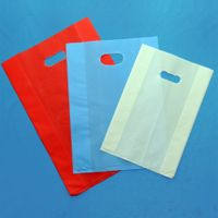 Competitive price die cut shopping bag with handle from Vietnam manufacturer thumbnail image