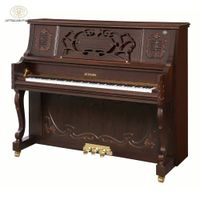 Shanghai Artmann mechanical walnut color 88 keys GD-125C2 archaic vertical upright piano