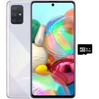 """Samsung A71 (128GB, 6GB) 6.7"""", 64MP Quad Camera, 25W Fast Charger, Android 10 thumbnail image"""