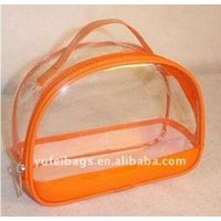 2011 clear pvc promotional cosmetic bag