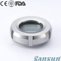 1.4404/1.4301 Stainless Steel Sanitary Union Type Sight Glass thumbnail image