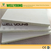 12mm decorative mgo fireproof wall board