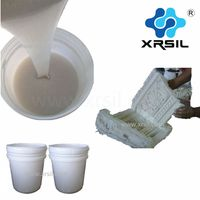 RTV-2 silicone rubber for cement sculpture molding
