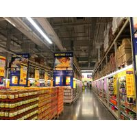 China best supplier for large steel structure shopping supermarket
