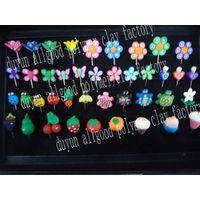 various designs polymer clay flower hijab pin thumbnail image