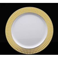 China Disposable Plastic Plates + Cutlery Wedding Reception