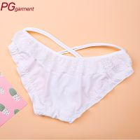 High quality fashion ruffles low-waist sexy lady panty ladies sexy inner wear underwear sexy girls p
