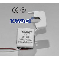 mini single phase split core current transformer 30A:37.5mA SCT-006 6mm diameter