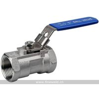 1 Piece Screwed Ball Valve