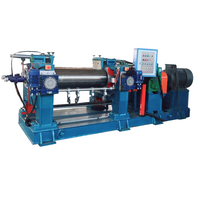 two roll open mixing mill for rubber