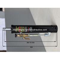 Manual band saw lift hydraulic cylinder