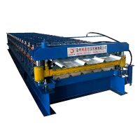 Trapezoidal Double layer roll forming machine thumbnail image