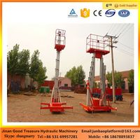 Double column Mobile Aluminum Alloy Lift Platform