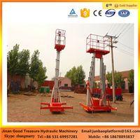Double column Mobile Aluminum Alloy Lift Platform