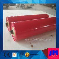 Hebei Juming conveyor steel carrier roller factory for coal