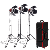 800W red head spotlights kits