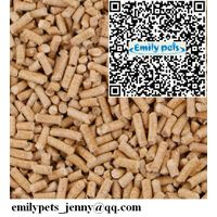 China Emily pets products pine wood pellet cat litter