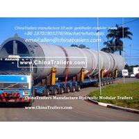 golghofer THP/SL hydraulic modular trailer