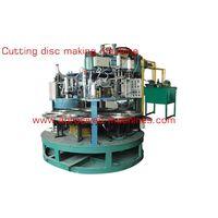 Cutting disc making machine