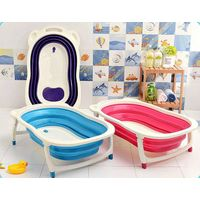 2015 Best Quality Baby bathtub, plastic baby folding bathtub
