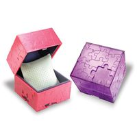 Puzzle Personalized Watch Box