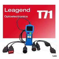 OBDII/EOBD Heavy Truck Code Reader Scanner Tool T71