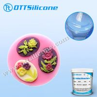 platinum cure silicone rubber for cartoon cake mold