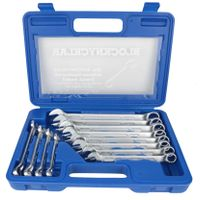 12PCS Combination Wrench Set 8-19mm