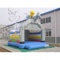 Factory direct Inflatable Castle Knight Bounce/inflatable bouncer thumbnail image