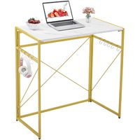 wooden desk fold computer table stand easy to assemble small bar, restaurant,coffee kitchen