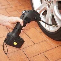 12v smart wireless tyre inflator Air Pump Air Compressor for Car SUV Motor Bike Truck thumbnail image