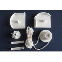 38mm White Plastic Accessories for Shangri-La Blind
