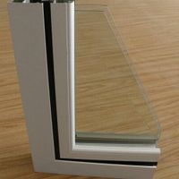 Windows and Doors Extrusion Aluminium Profiles