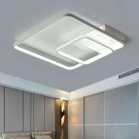 Modern LED Ceiling Light Living Room Lighting Fixture Lamp Bedroom Bathroom with Remote Control thumbnail image