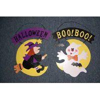 Halloween wll deco