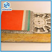 Fire Resistant Cubic Meter Sound Absoring Fire Insulation Rockwool