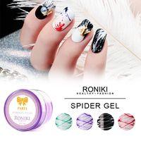 RONIKI Spider Gel,Nail Art Gel,Spider Gel Polish,Nail Painting Color Gel