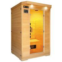 2 person infrared sauna