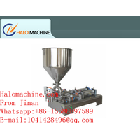 Automatic weighing oil / liquid filling machine,nail polish remover liquid filling machine packing thumbnail image