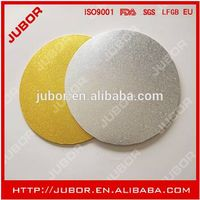 Round Gold And Silver Foil MDF Cake Boards thumbnail image