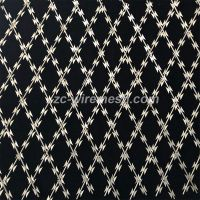 Special-Shaped Blade Pricking Welded Razor Wire Mesh