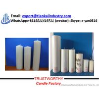 paraffin wax cheap votive pillar candles thumbnail image