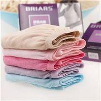 4pcs Disposable 100% Cotton Women Disposable Panties Briefs Underwear Travel Sports Hotel Beauty