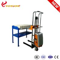 Electric Hydraulic Crucible Pot Trolley Loader for Fire Assay Laboratory