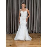 Mermaid & Trumpet Sweetheart Low Back Lace Wedding Dress W28